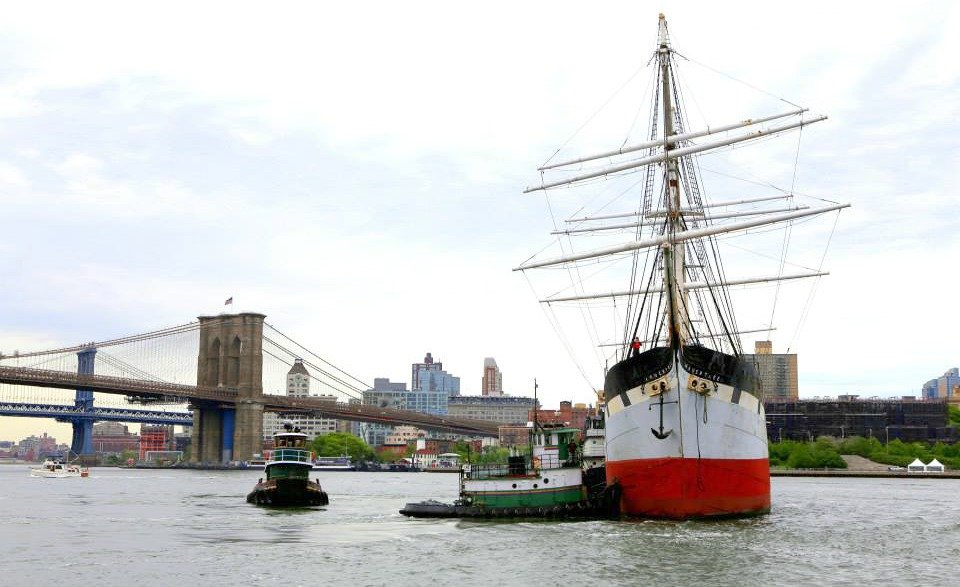 South Street Seaport Museum, Wavertree, historic ships, South Street Seaport Historic District