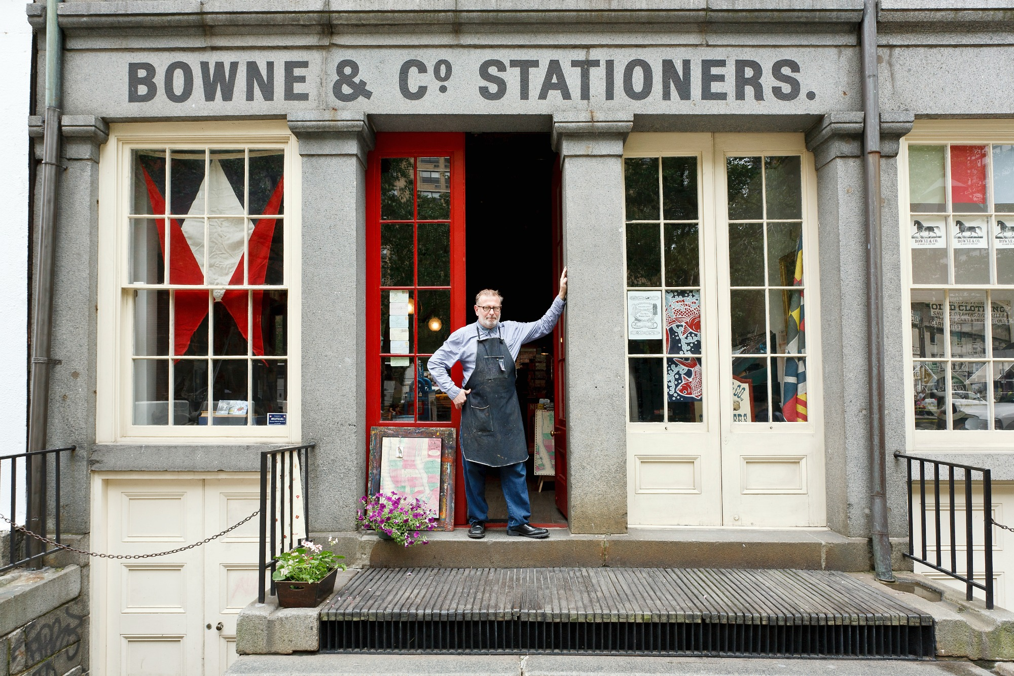 Bowne & Co. Stationers, South Street Seaport Museum, South Street Seaport Historic District