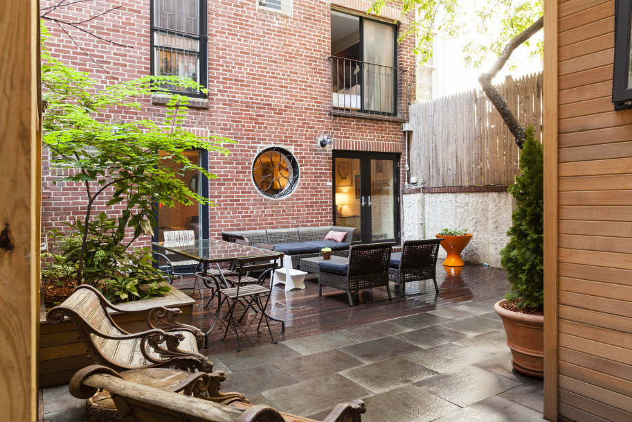 quirky brooklyn heights duplex comes with its own backyard studio