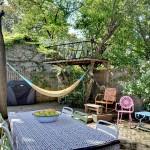 182 Rutland Road, backyard, hammock