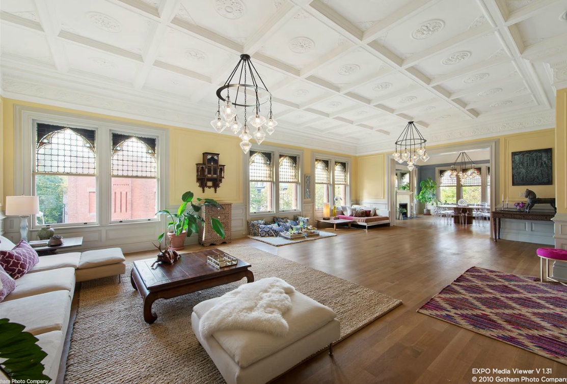 Jaw-Dropping Apartment in Former Ballroom of Park Slope\'s ...