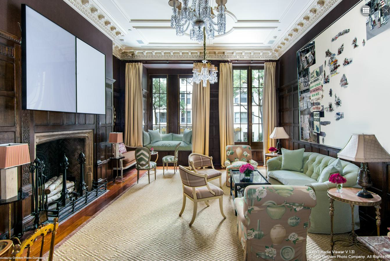 Rather Modest UES Townhouse Has Five Floors, Seven Fireplaces, Two Kitchens,  Mail Center And Elevator