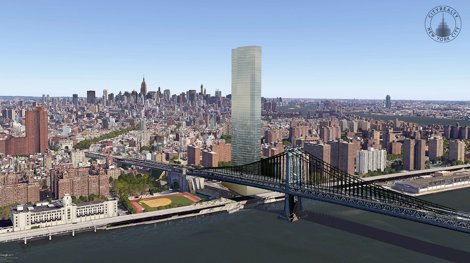 First Full Look At Extell S 80 Story One Manhattan Square