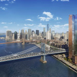 Extell Development, Gary Barnett, One Manhattan Square, Two Bridges, Manhattan Bridge, Manhattan skyline