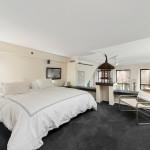 12 East 14th Street, lofted bedroom