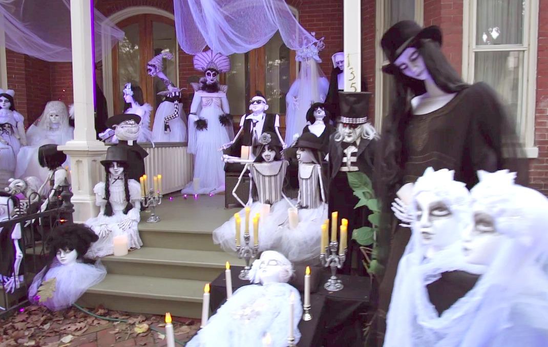 lambertville halloween house