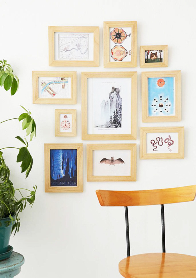10 Imaginative and Inexpensive Ways to Frame Your Favorite Art | 6sqft