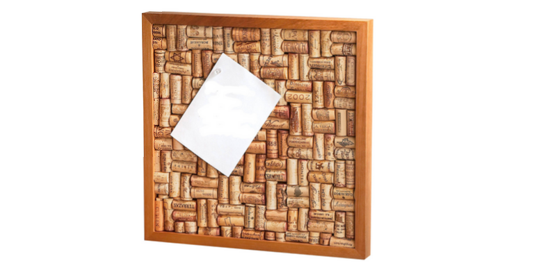 wine cork cork board frame
