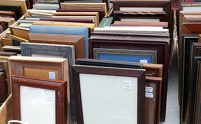 vinatge frames