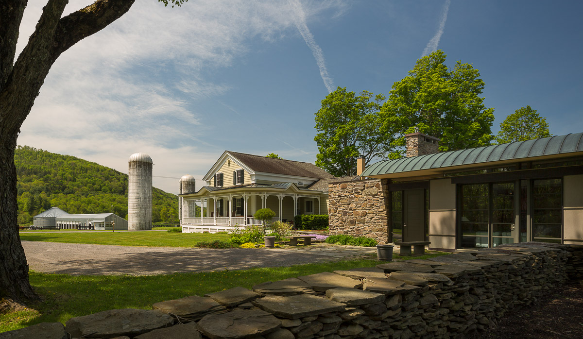 charlotte valley farm, exterior, addition