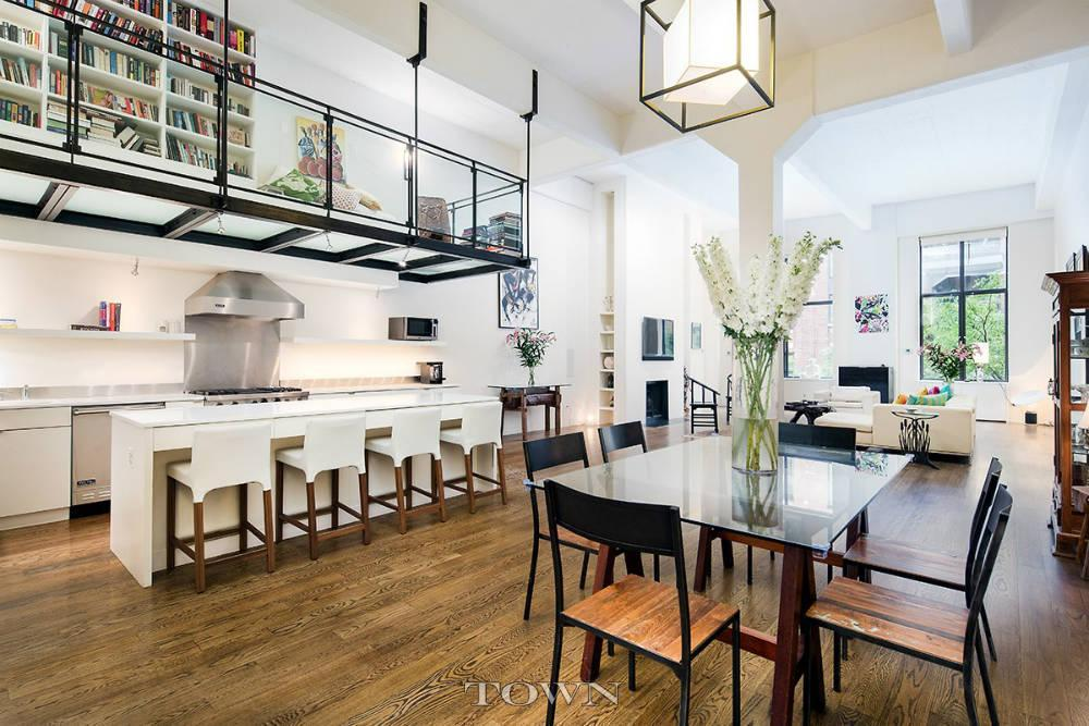 This 5 5m west village pad has a glass catwalk and will for Catwalk flooring