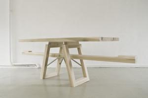 Marleen-Jansen, sea saw table, Tafelwip