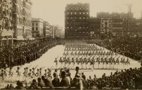 Columbus Day Parade 1892, Columbus Day history, NYC historic parades, Discovery Day
