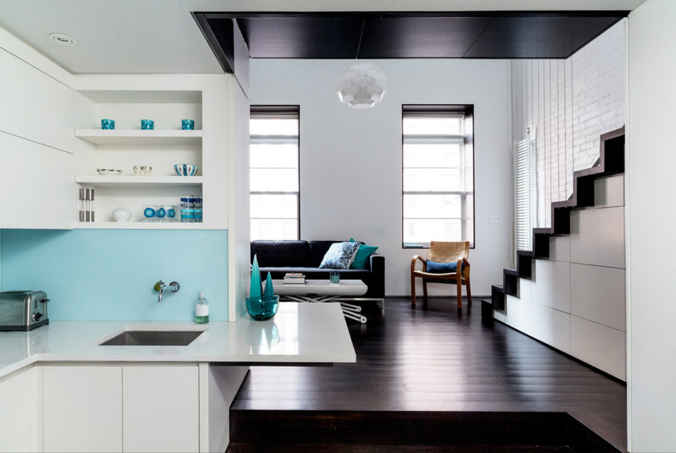 Specht Harpman Transforms an Awkward 425-Square-Foot Apartment Into ...