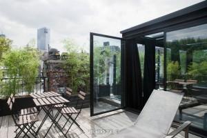 88 Macdougal Street, penthouse, balcony
