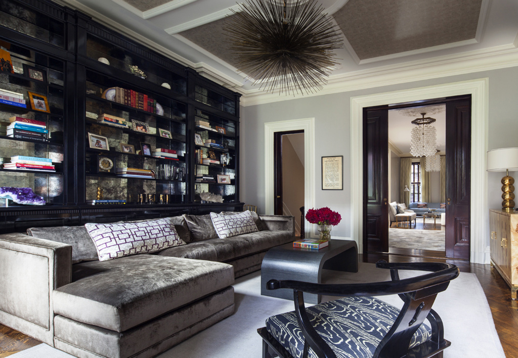 townhouse living room east side townhouse by blair harris boasts opulant 10158