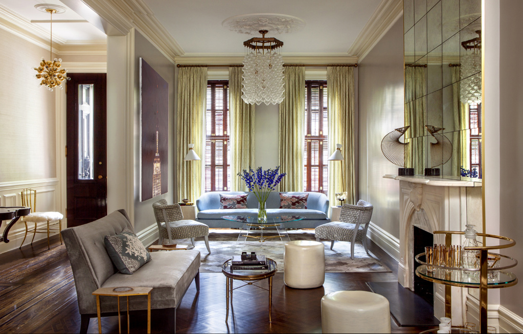 Upper East Side Townhouse By Blair Harris Boasts Opulant