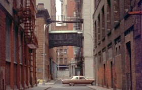 Staple Street Skybridge, News from Home, Tribeca history, 1970s NYC