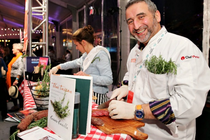 Chef Cesare Casella, New York City Wine and Food Festival