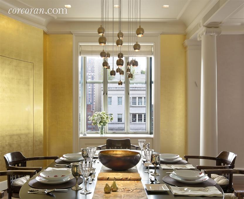 820 Park Avenue, dining room, co-op