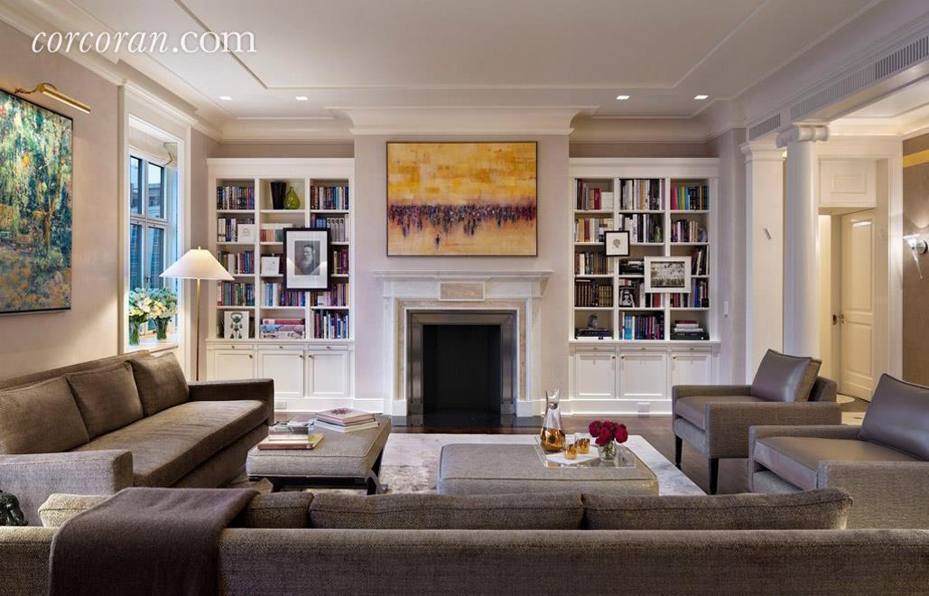 820 Park Avenue, Robert A.M. Stern, living room