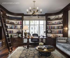 820 Park Avenue, office, study, Robert A.M. Stern