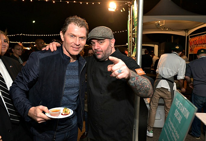 NYC Food & Wine Festival, Bobby Flay, Chris Santos