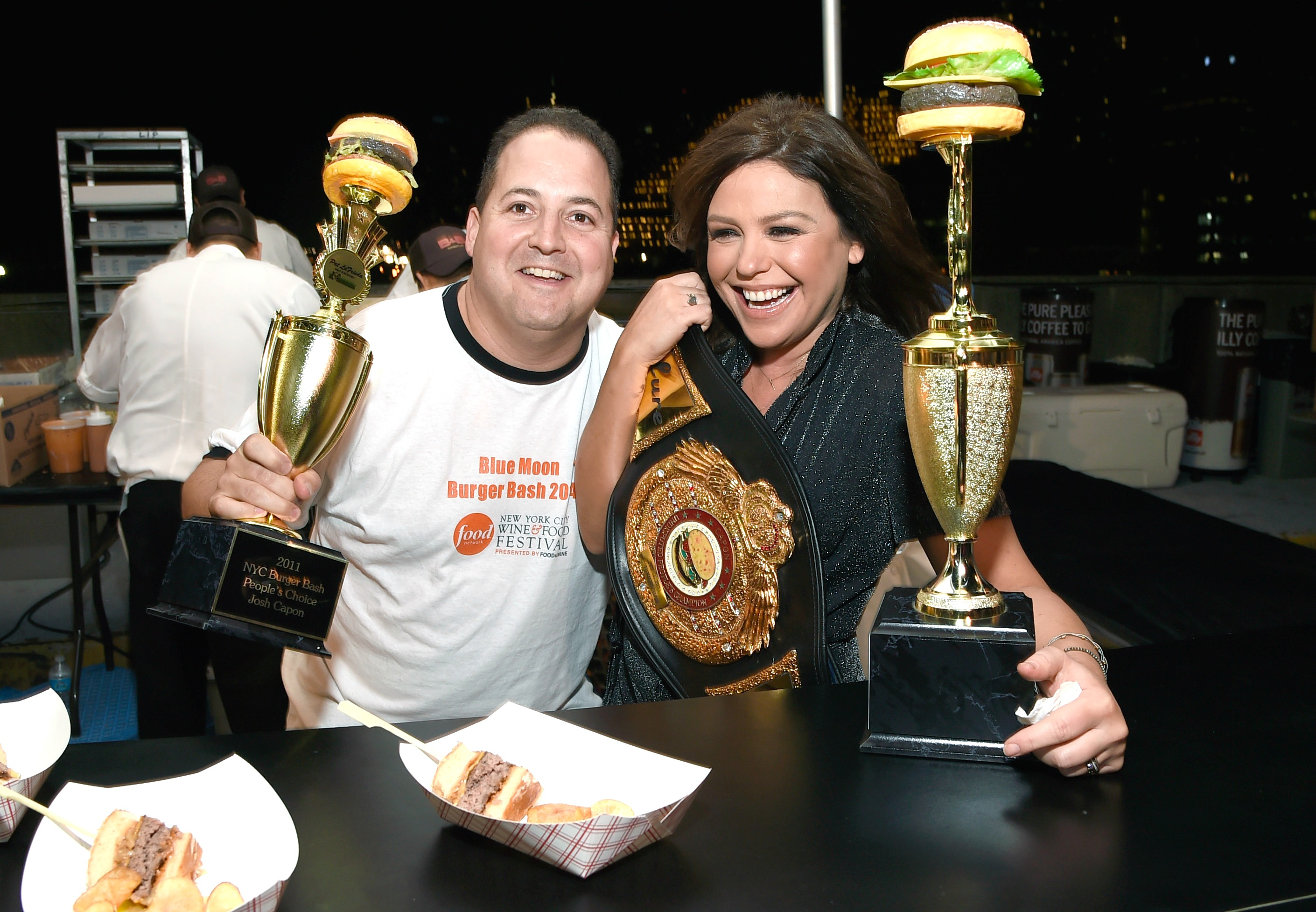 NYC Food & Wine Festival, Blue Moon Burger Bash, Rachael Ray