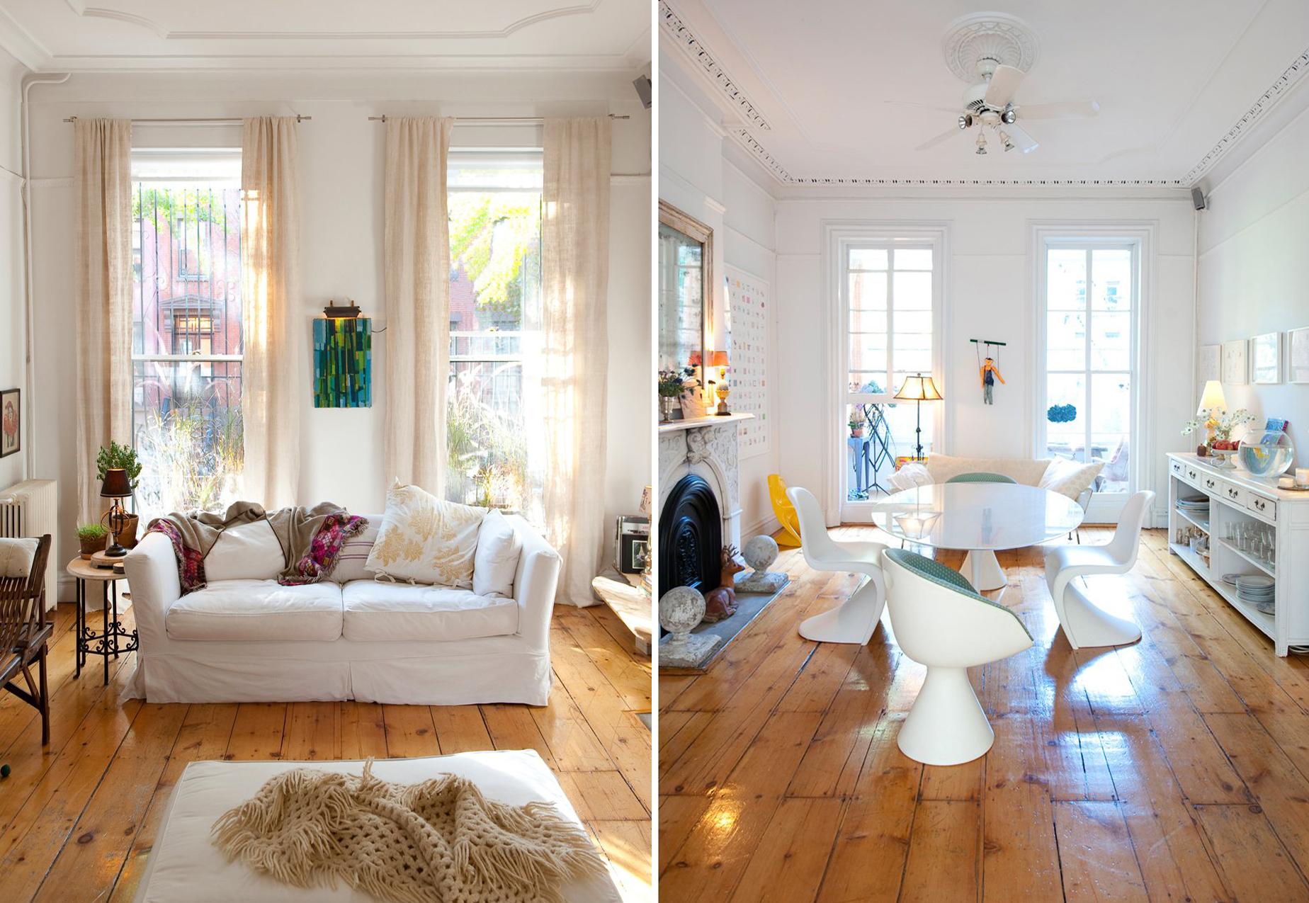 Jan Eleni\'s Brooklyn Townhouse Interior Mixes Primitive and ...