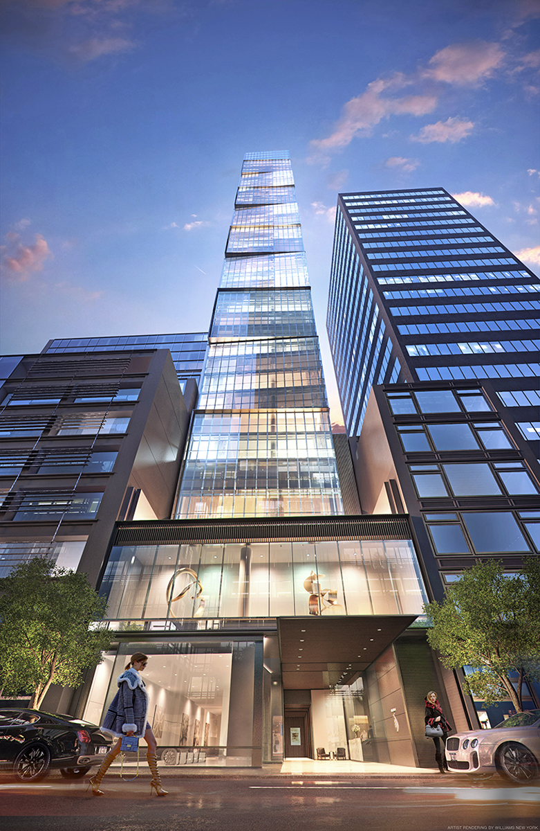 118 East 59th Street, SCDA Architects, Euro Properties, Billionaires Row