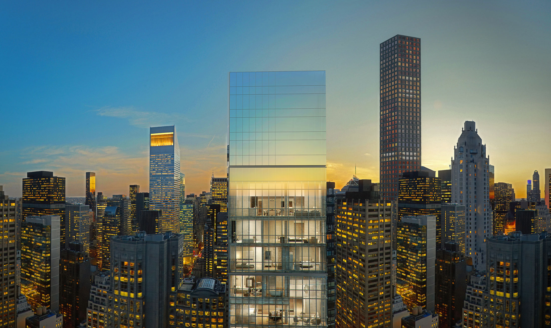 Construction And Sales Begin On SCDAs Billionaires Row Tower 118 East 59th Street