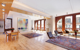 644 Broadway, windows, co-op, living room