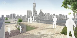 Kevin Shane, Jeff Jordan Architects, Liberty Bridge, pedestrian bridge NYC, Hudson River bridge