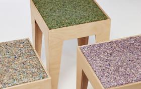 angela mathis, recycled money furniture, VALUE