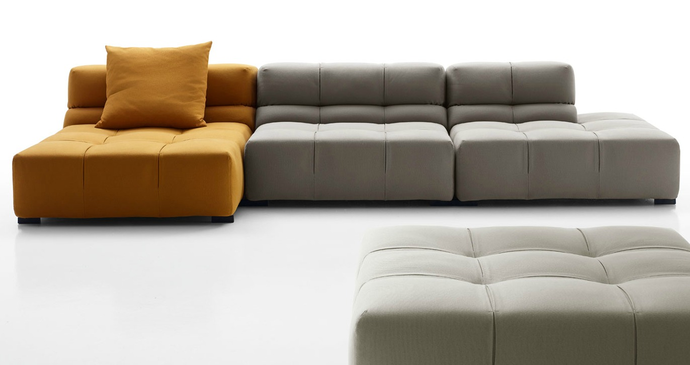 tufty time sofa, B&B Italia, modular furniture, sectional