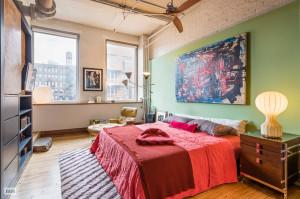 139 West 19th Street, bedroom, co-op, loft