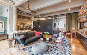 139 West 19th street, living room, loft, co-op