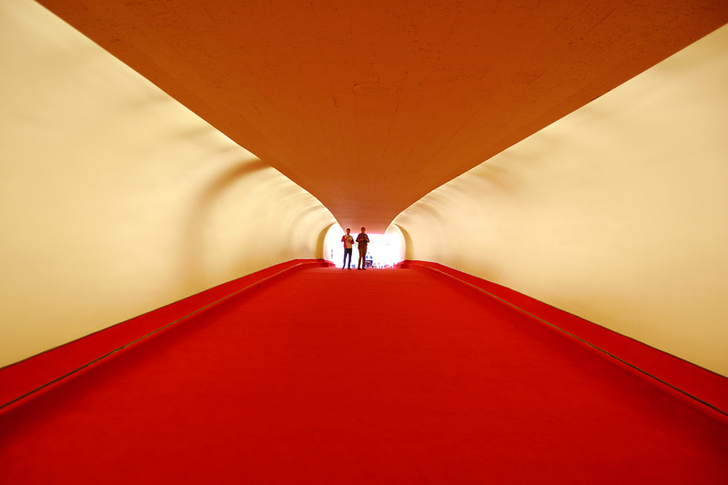 twa flight terminal tunnel