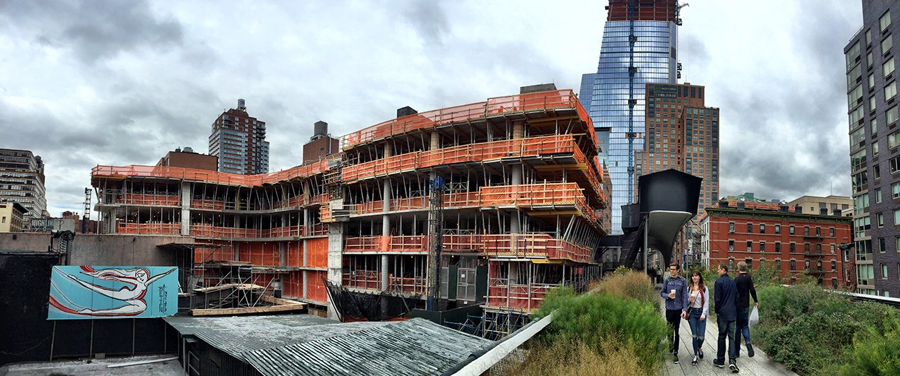 520 West 28th Street, Zaha Hadid, Related Companies, High Line 2