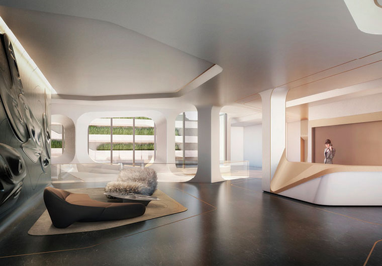 Zaha Hadid Launches Sales At Her High Line Condos Talks