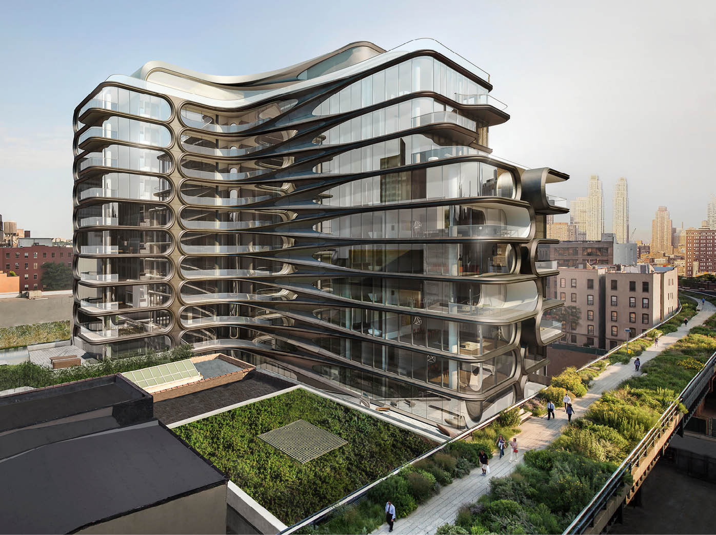 Zaha Hadid's futuristic 520 West 28th Street gets rental listings, from $15,000/month