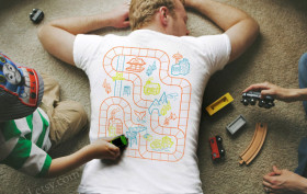 road map teeshirt, race car tee, bkykid