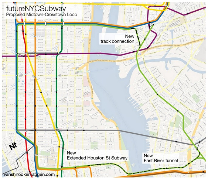 Nyc Subway Map 1 Train.Here S What The G Train Could Look Like If It Went Into Manhattan