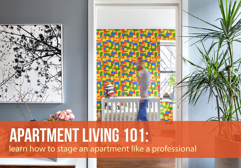 48 Tips On How To Stage An Apartment Like A Professional 48sqft Simple 1 Bedroom Condo Nyc Set Decoration