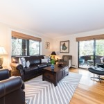 33 tier street, living room, glass door, co-op, city island