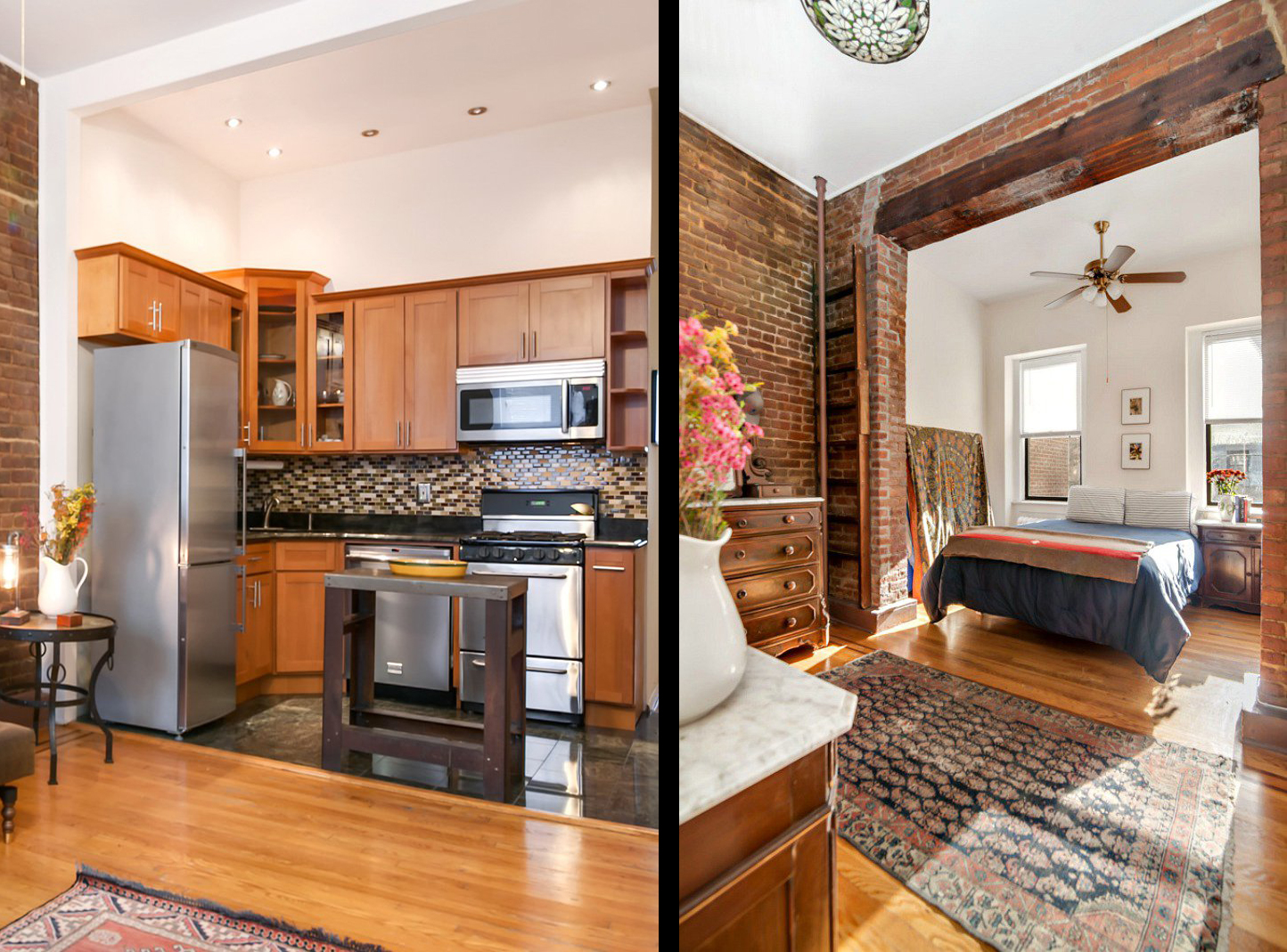 This One Bedroom Rental In Carroll Gardens Boasts The Loft
