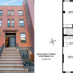 282 Sackett Street, Carroll Gardens, floorplan