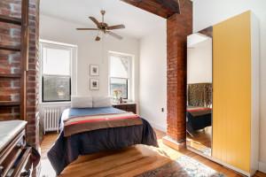 282 Sackett Street, bedroom, carroll gardens, rental