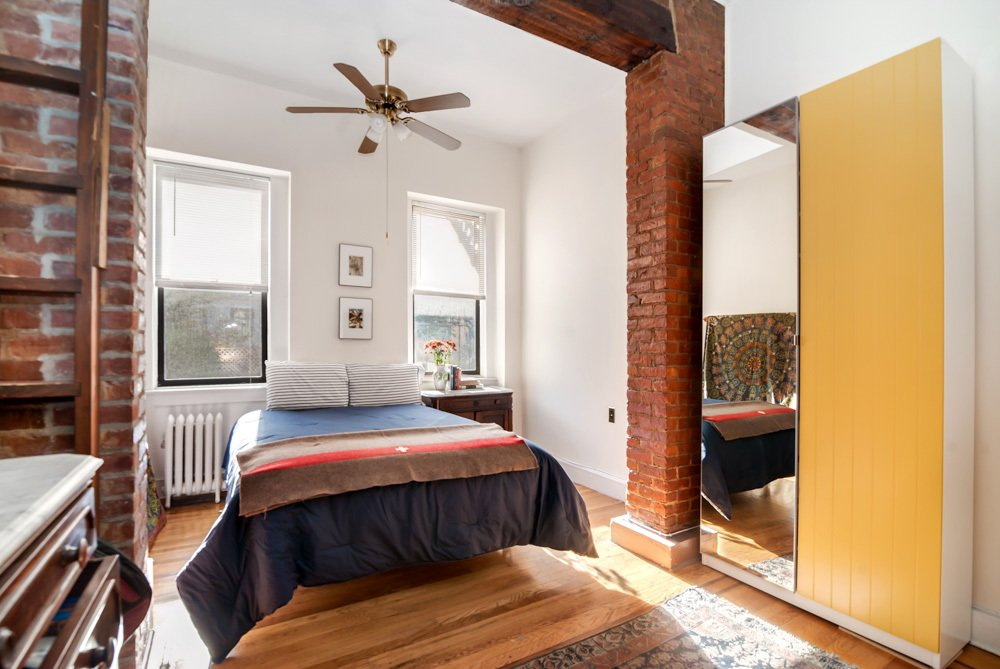 282 Sackett Street Bedroom Carroll Gardens Rental