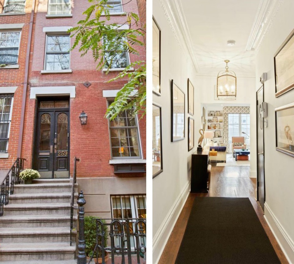 This upper east side townhouse makes up in charm what it for Upper east side townhouses